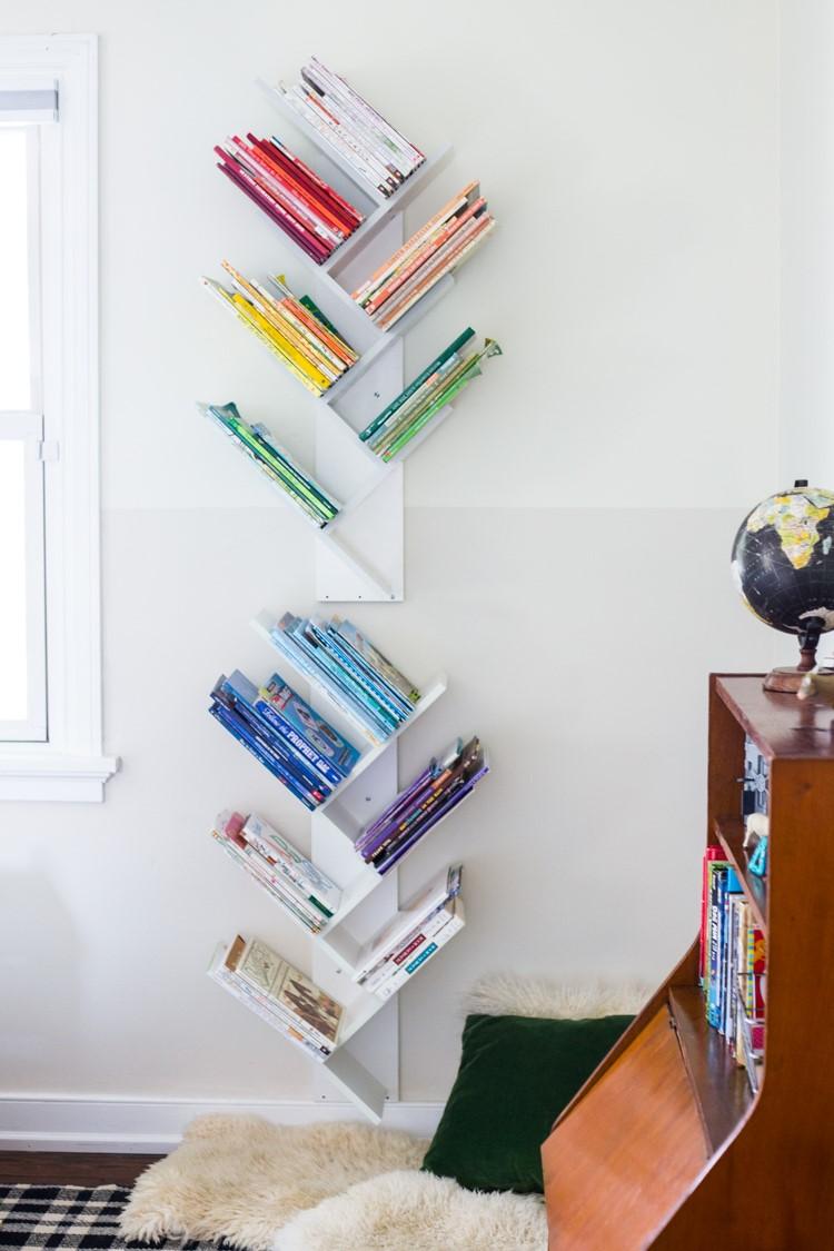 5.SIMPHOME.COM Minimalist Bookshelves
