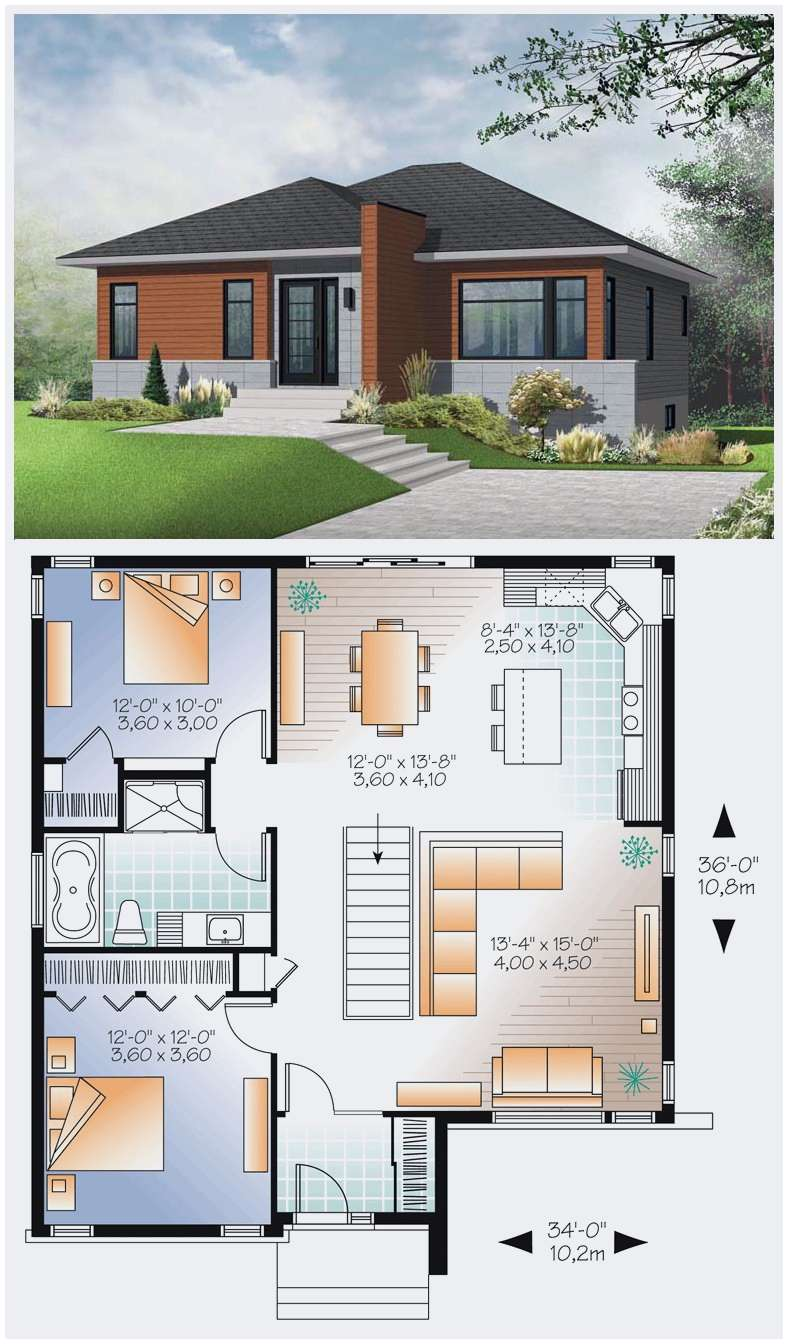 12+ Cool Concepts of How to Upgrade 4 Bedroom Modern House ...