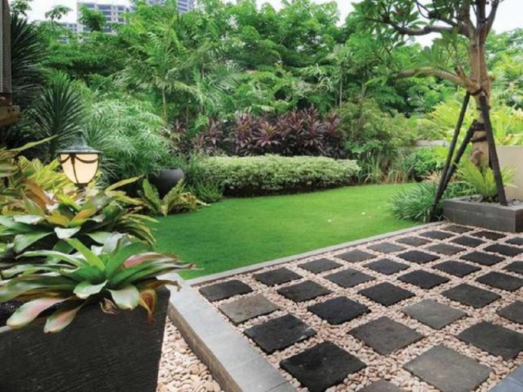 6.SIMPHOME.COM Tropical garden