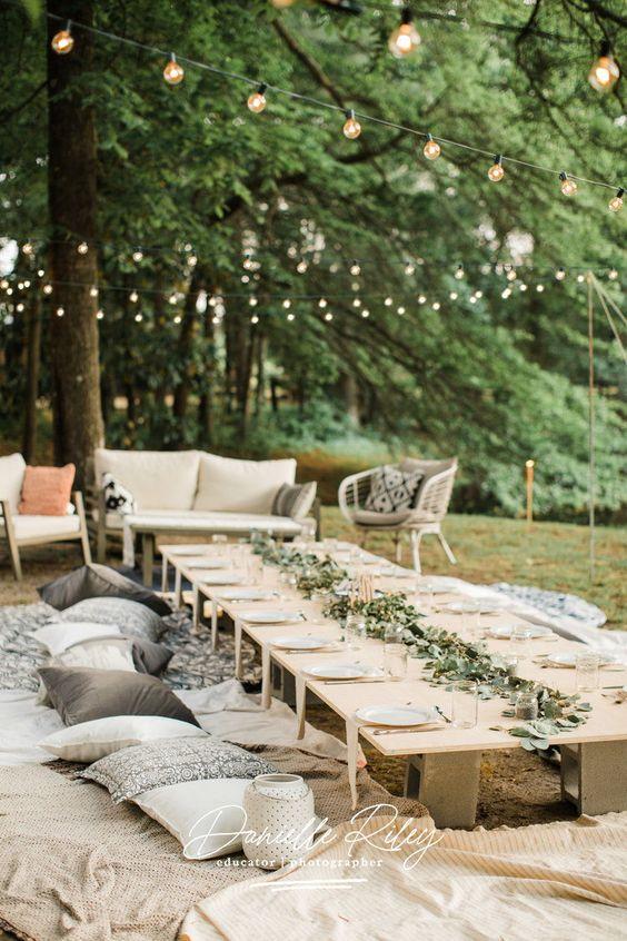 7.Outdoor Wedding setting via Simphome.com