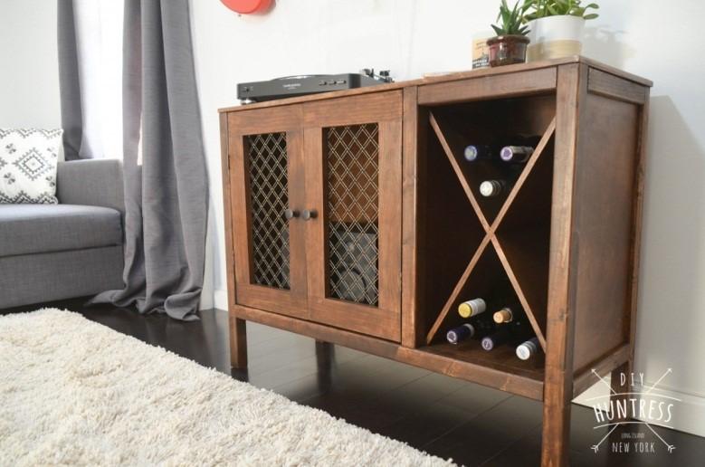7.SIMPHOME.COM Cabinet with Wine Storage
