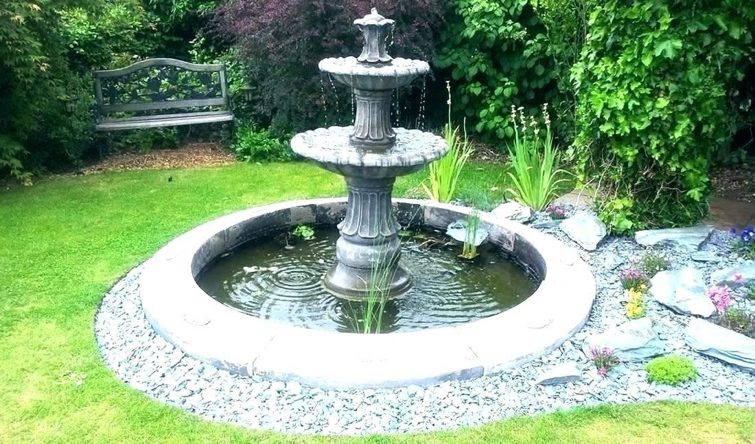 8.SIMPHOME.COM 10 Ideas how to make backyard privacy landscaping Fountains to Muffle Outside Noises