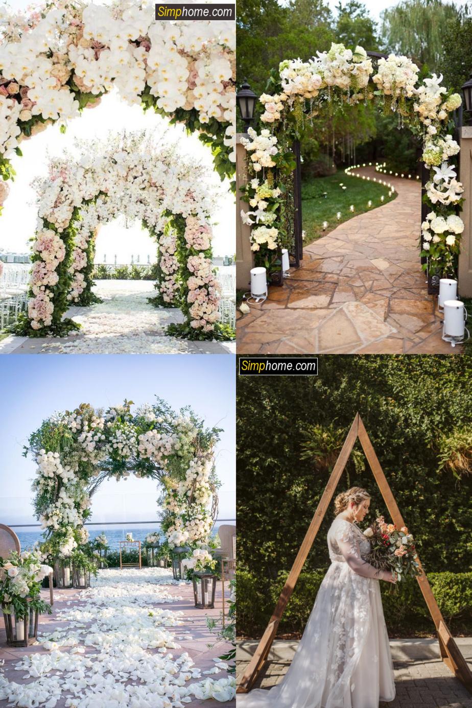 9.Roses Arch Ideas via Simphome.com