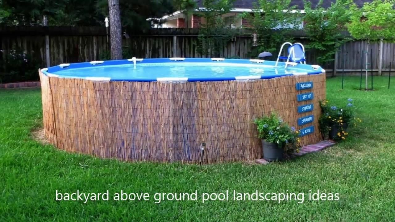 9.SIMPHOME.COM Simple Small Above Ground Pool