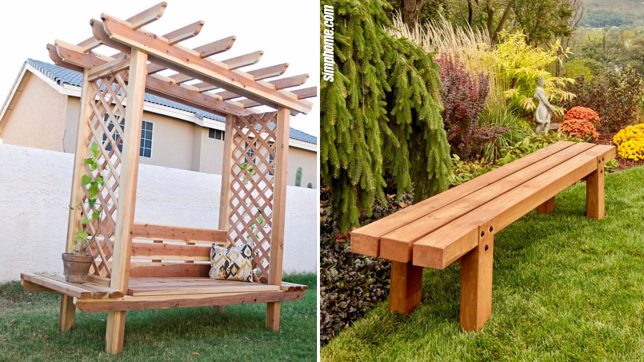 Picture of: 10 Diy Outdoor Wooden Project Ideas Simphome
