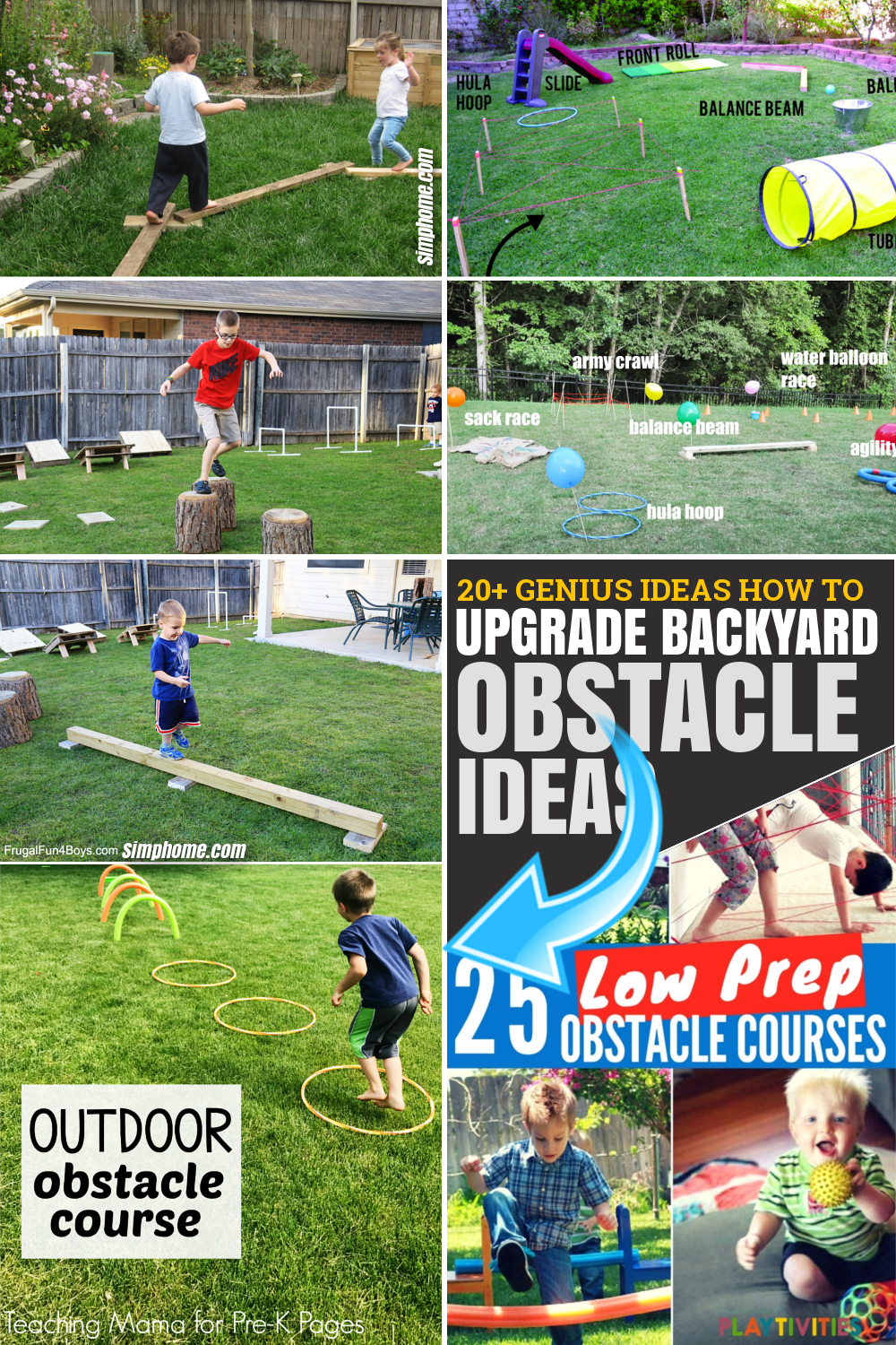 SIMPHOME.COM 10 Genius Tricks of How to Upgrade Backyard Obstacle Course Ideas Featured Image