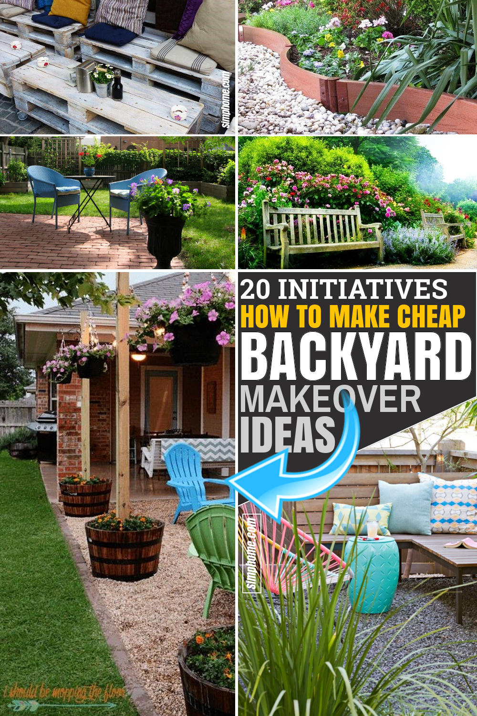 26 Initiatives of Cheap Backyard Makeover Ideas - Simphome