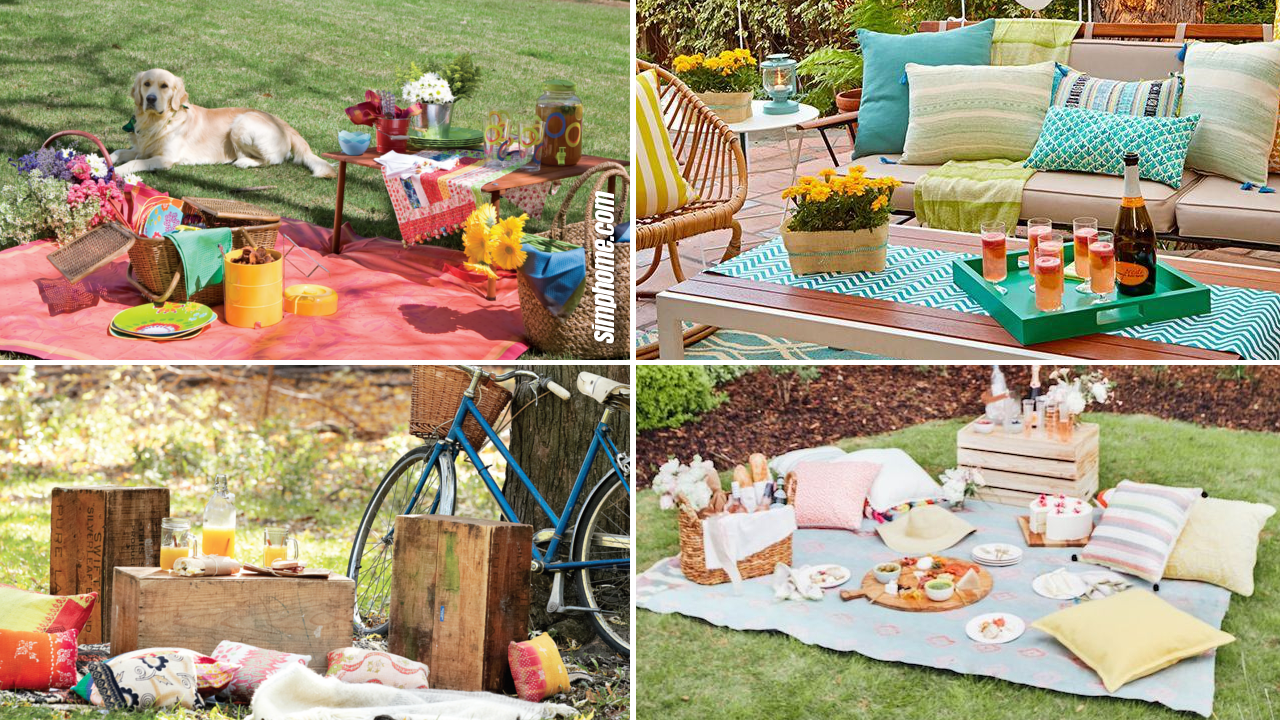 SIMPHOME.COM 10 Ideas how to craft backyard picnic ideas Featured Image