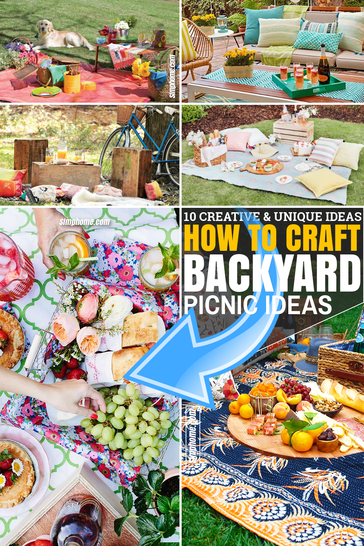 SIMPHOME.COM 10 Ideas how to craft backyard picnic ideas Featured Pinterest