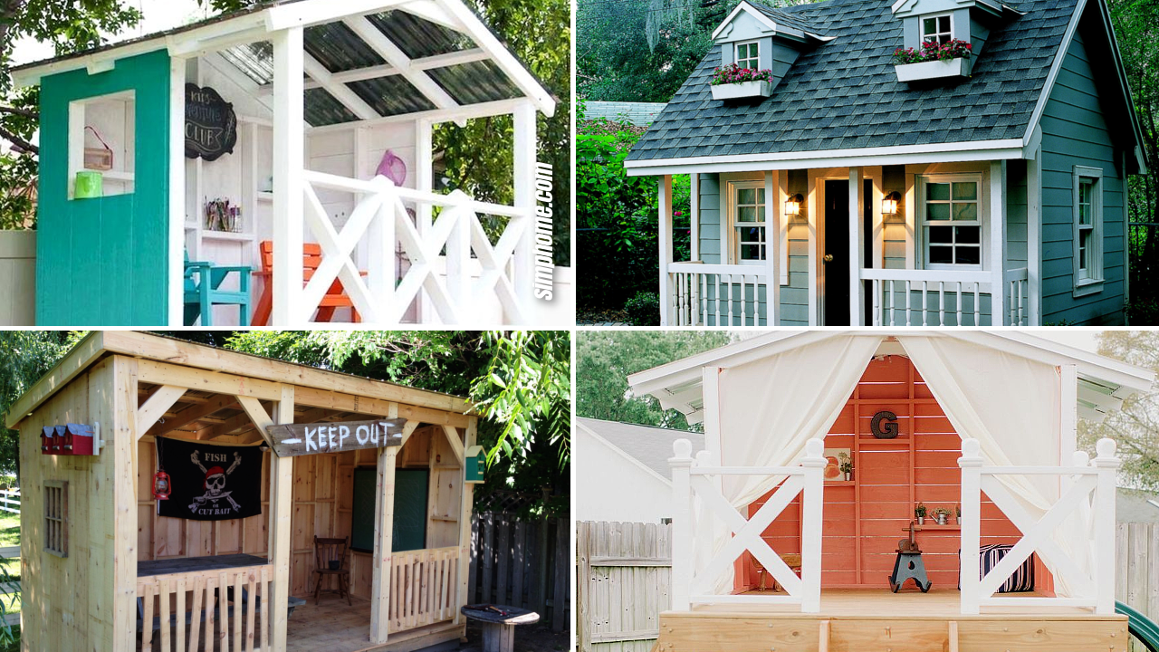 SIMPHOME.COM 10 Smart Ways How to Build Backyard Clubhouse Ideas Featured Image