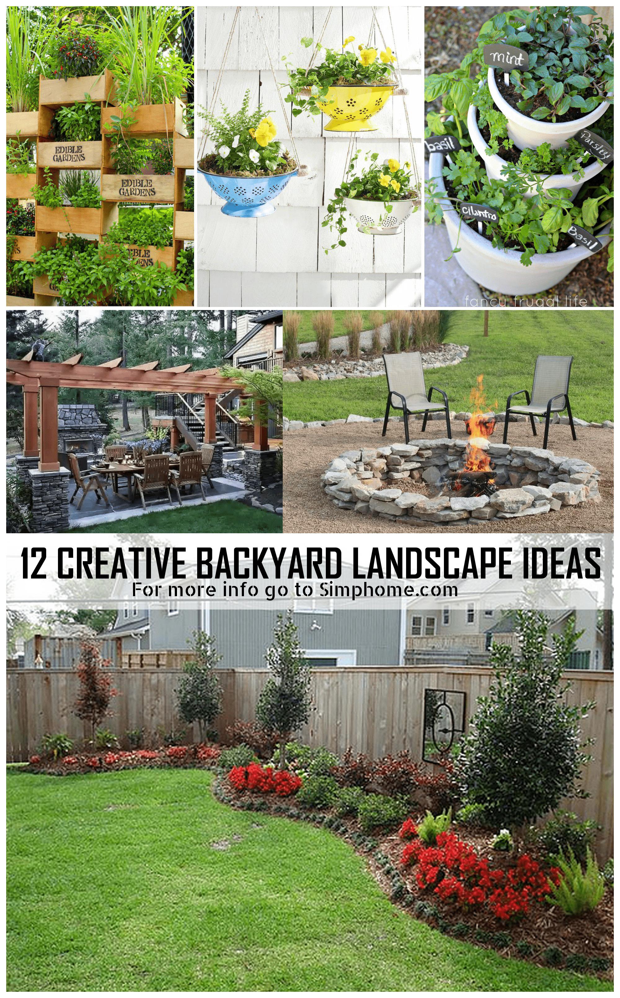 SIMPHOME.COM 12 Genius Concepts of How to Make Landscape Ideas For Backyard min