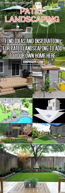 SIMPHOME.COM right plan for your landscape design landscaping tips