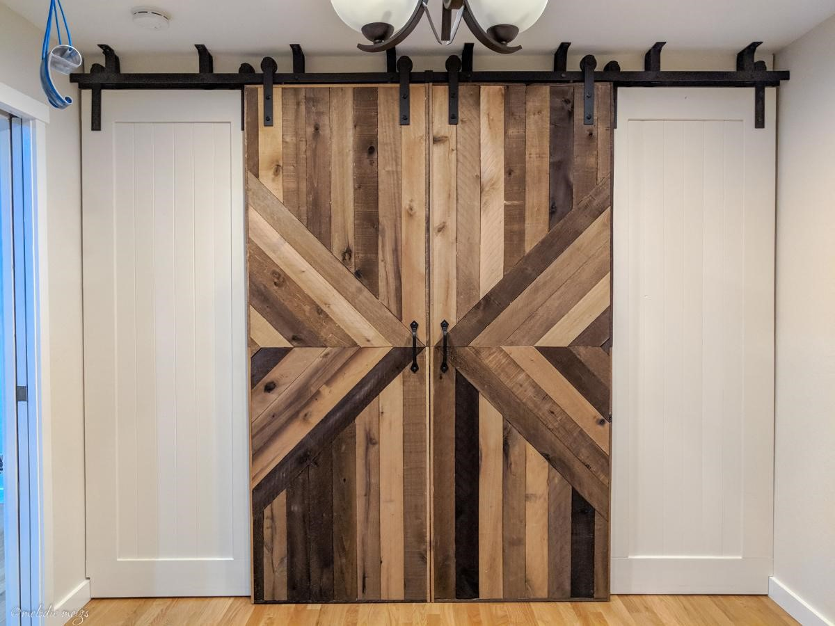 1. SIMPHOME.COM Replace the Regular Doors with Sliding Barn Doors