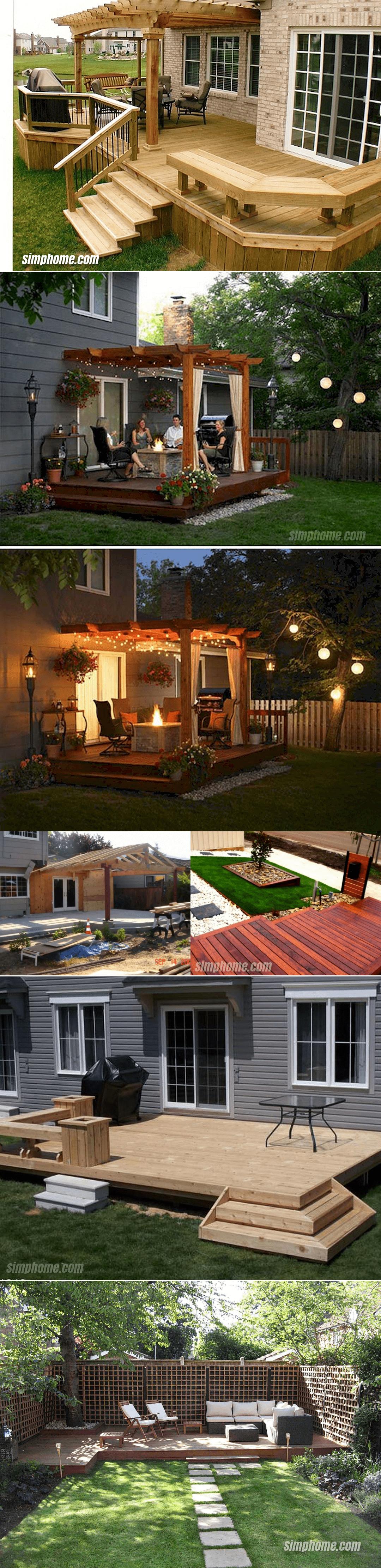 11.SIMPHOME.COM 10 Ways how to improve backyard deck ideas