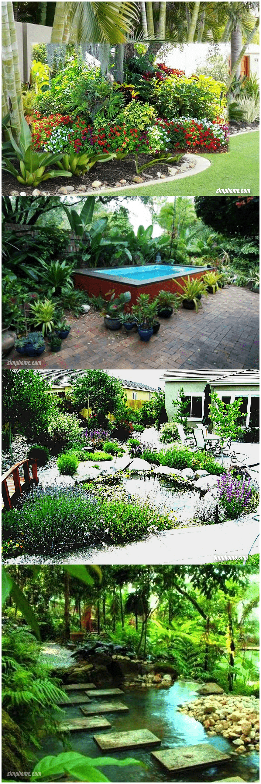 15.SIMPHOME.COM 10 Awesome Ideas How to Make Small Tropical Backyard Ideas