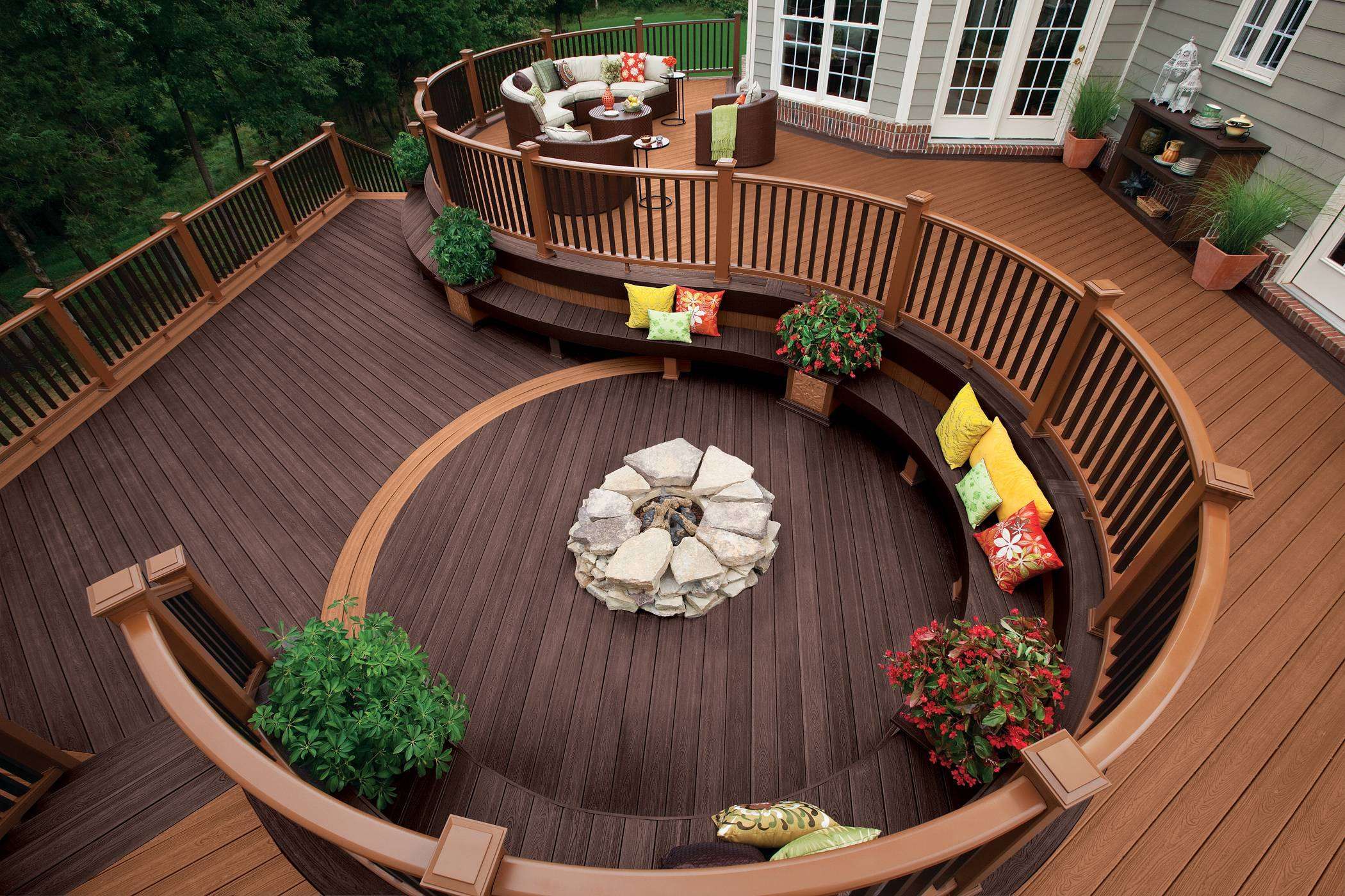 21.SIMPHOME.COM A unique deck design ideas for your client throughout backyard deck ideas