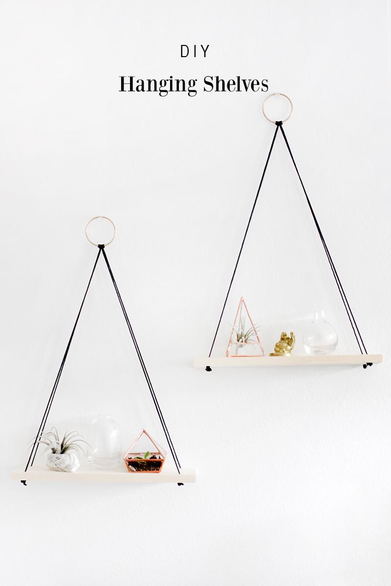 5.SIMPHOME.COM Hanging Shelves