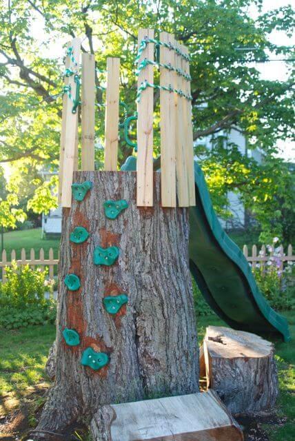 5.SIMPHOME.COM Turn a Tree into a Slide