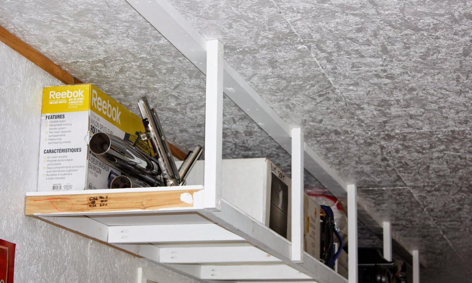 6.Simphome.com Overhead Shelves