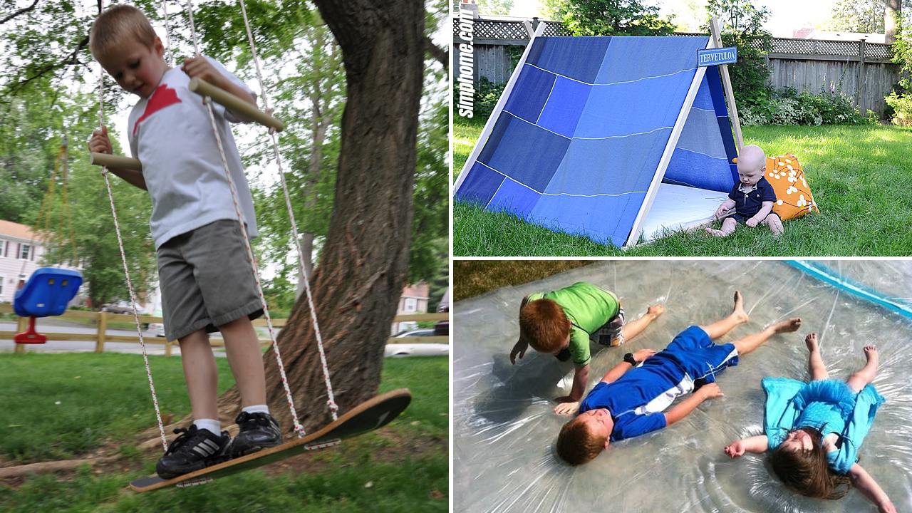 SIMPHOME.COM 10 Clever Tricks of How to Build Fun Backyard Ideas for Kids Featured Image