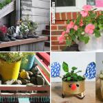 SIMPHOME.COM 10 Creative Flower Pot Ideas.Featured Image