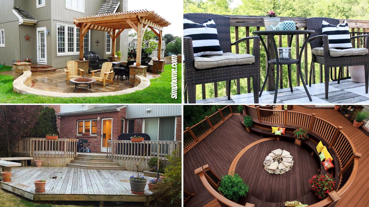 SIMPHOME.COM 10 Ways How to Improve Backyard Deck Ideas Featured Image