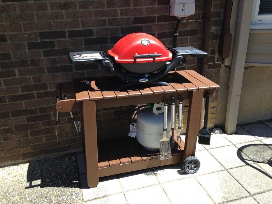1.Simphome.com Portable Grill Cart