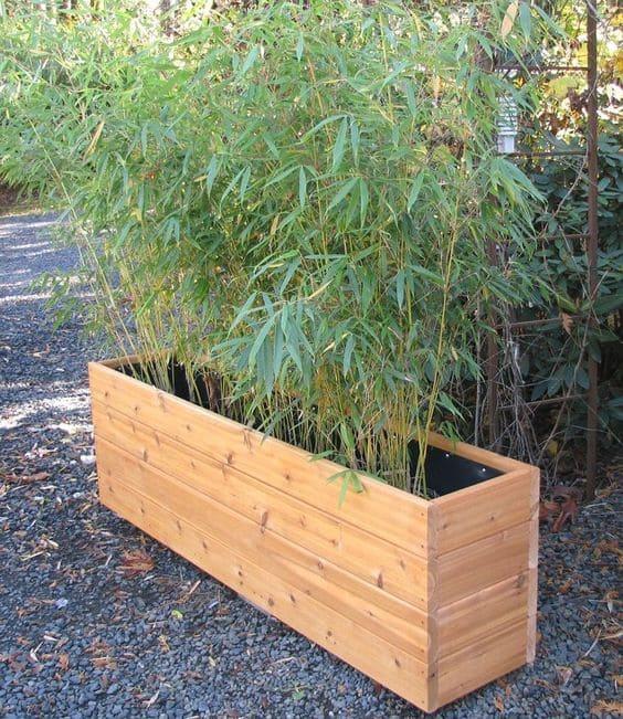 10.Simphome.com Garden Box with Plastic Insert