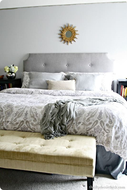2.Simphome.com A DIY Tufted Headboard project idea