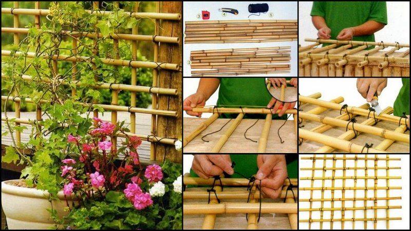 2.Simphome.com Bamboo Trellis