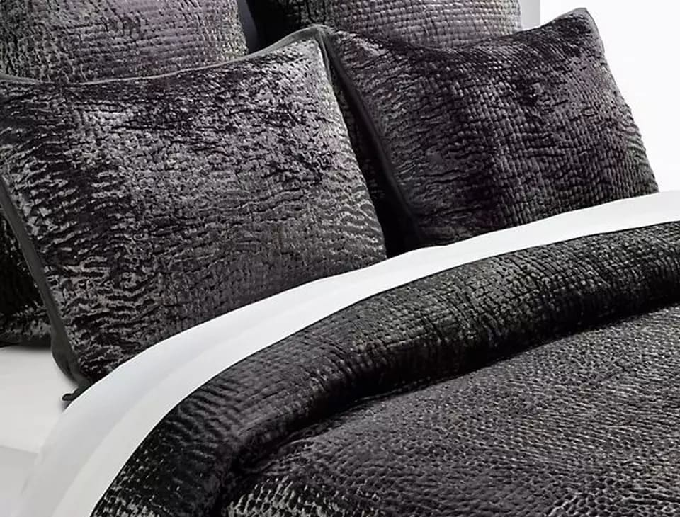 6.Simphome.com Play with Charcoal Grey Bedding