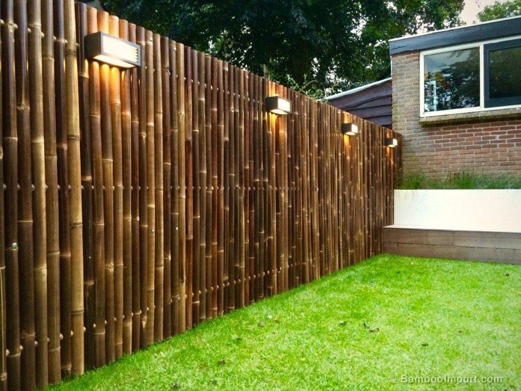 Simphome.com Bamboo Fencing Ideas