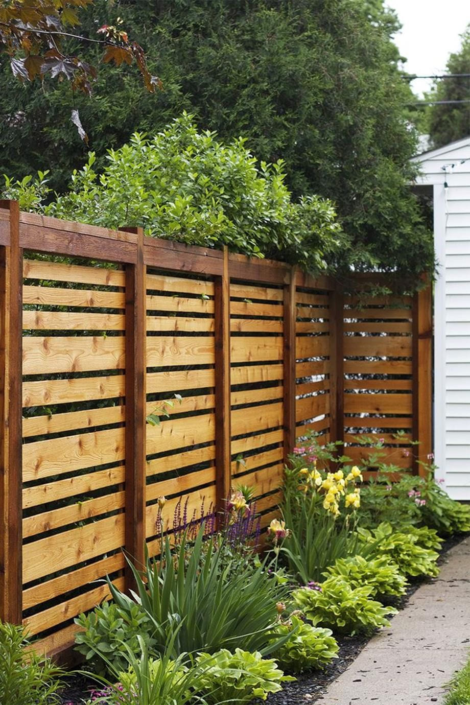 20 Backyard And Garden Fencing Ideas Simphome