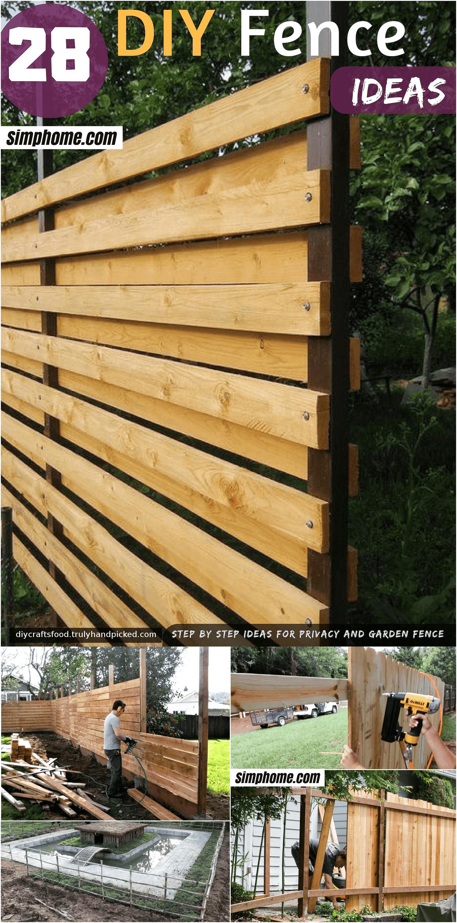 Simphome.com cheap fence ideas for outdoor for 2020 2021 2022