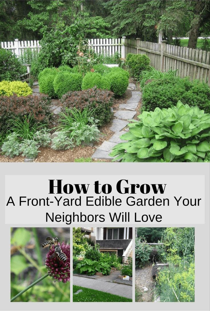 Simphome.com how to grow a front yard edible garden your neighbors will love for edible garden ideas