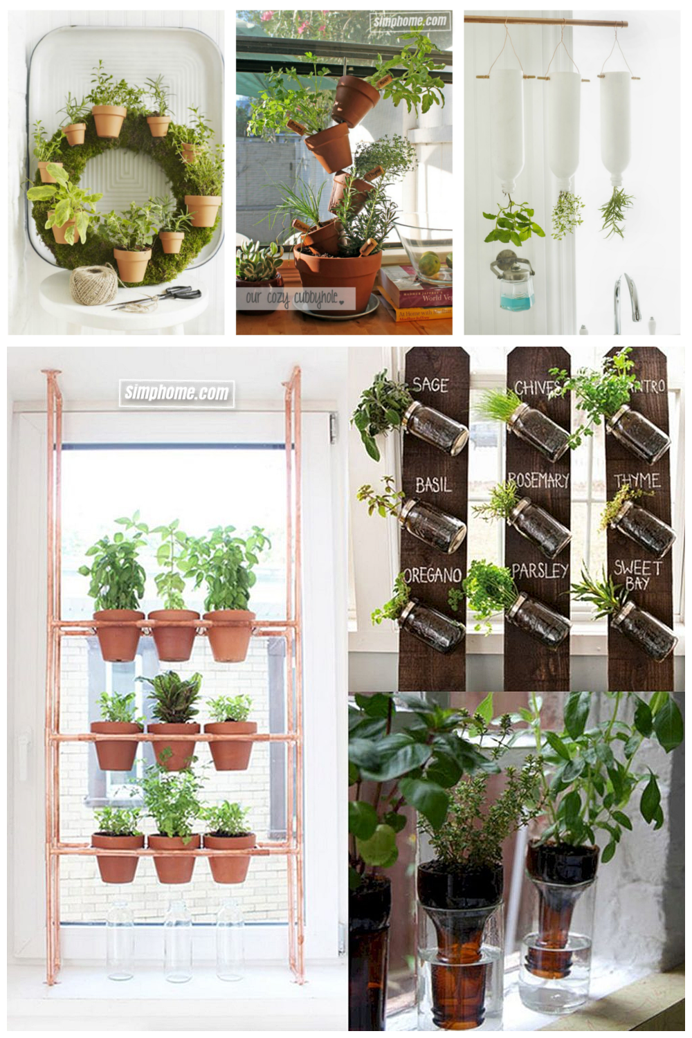 Simphome.com make your own indoor herb garden hikayeler within inside herb garden ideas