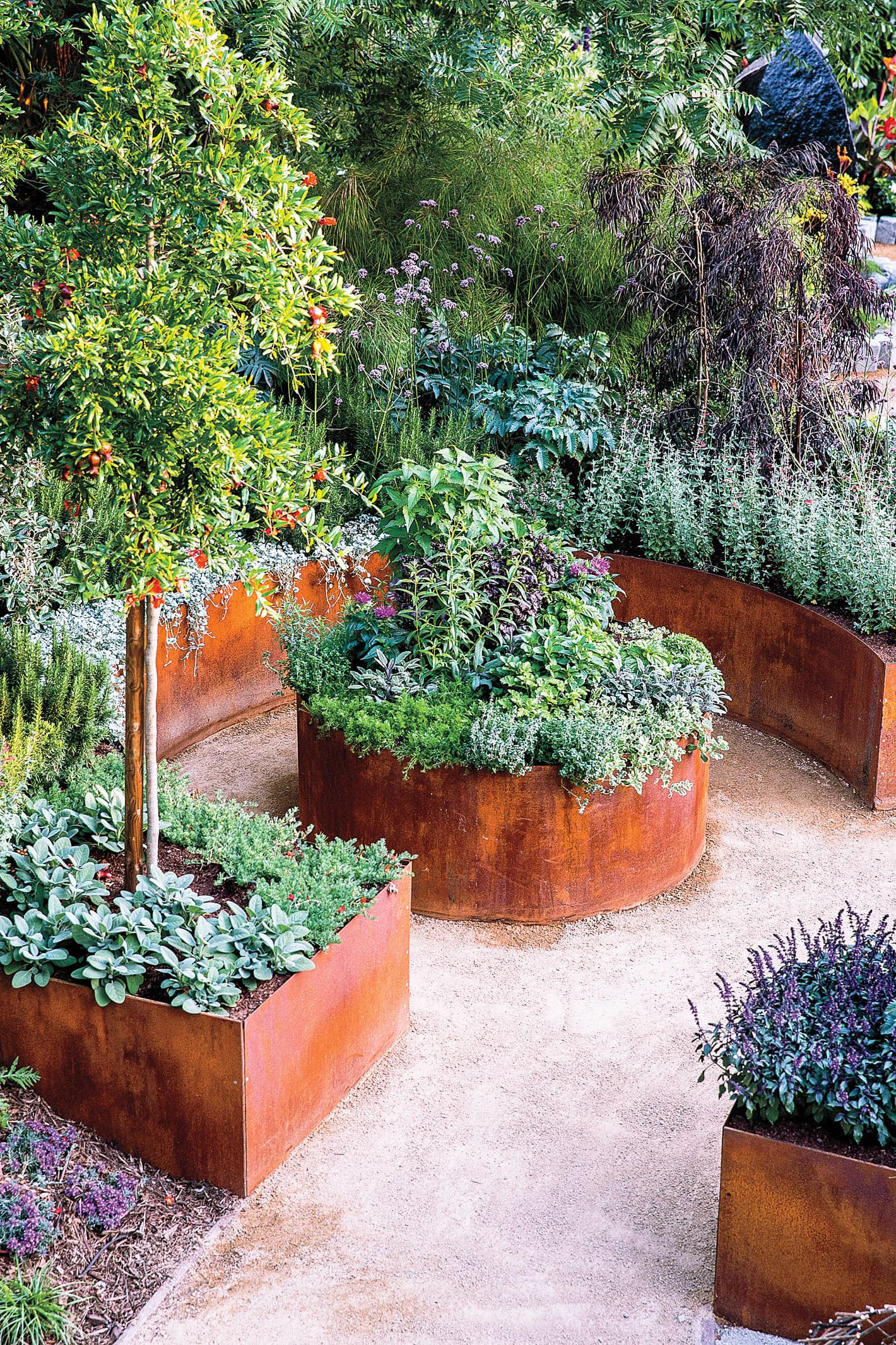 Simphome.com sunset magazine intended for edible garden ideas