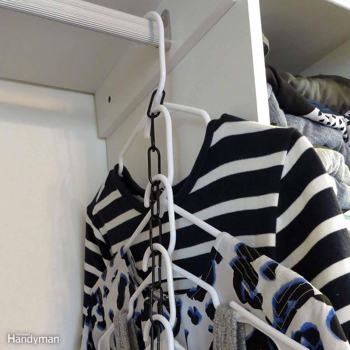 2.Simphome.com Tiered Hangers