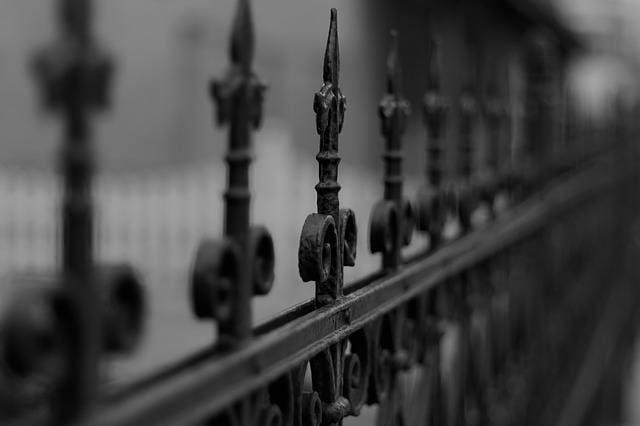 2.Simphome.com Wrought Iron Fence