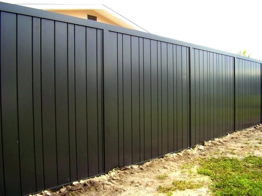 7.Simphome.com Solid Panel Fence