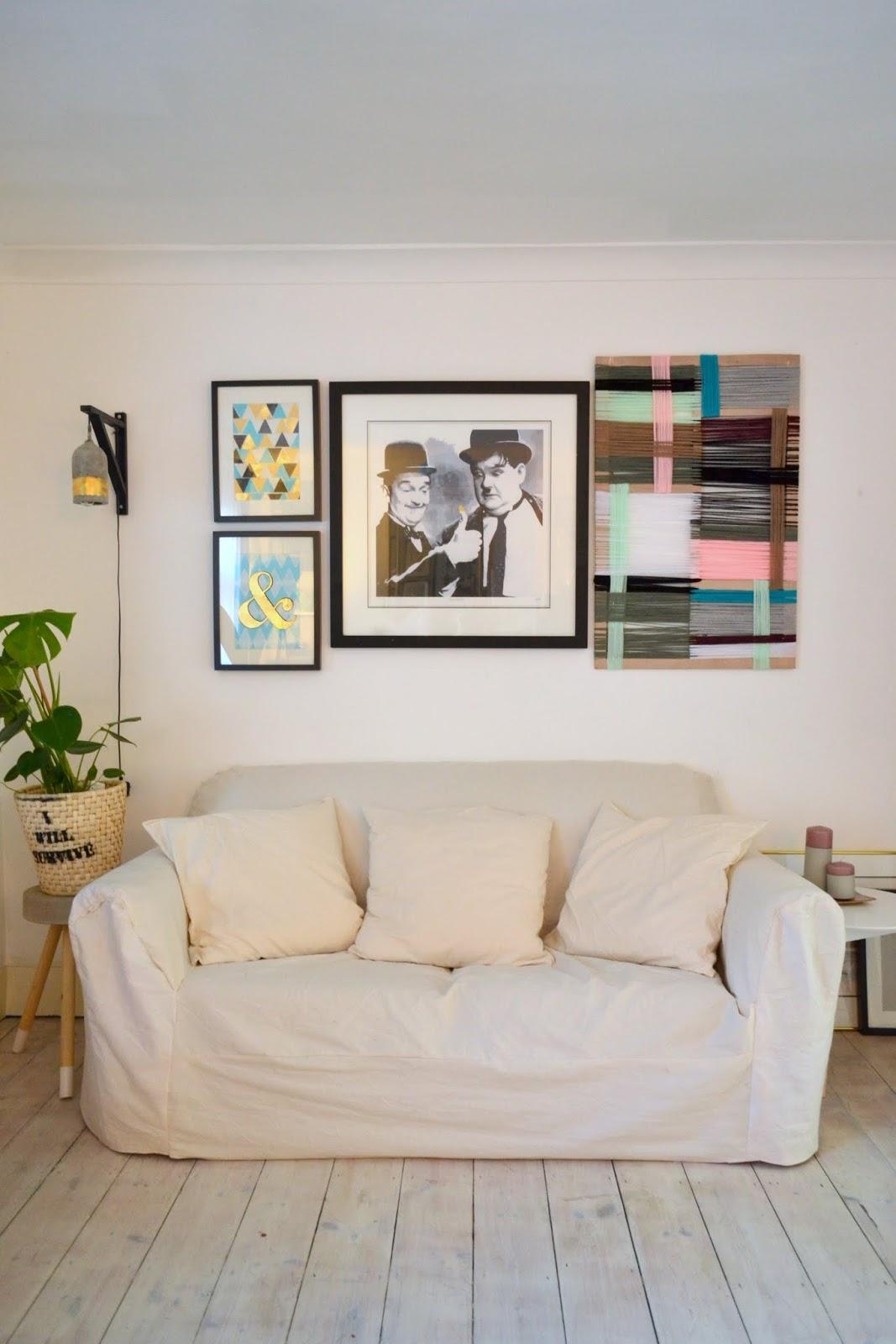 9. Simphome.com A Simple Sofa Cover Idea