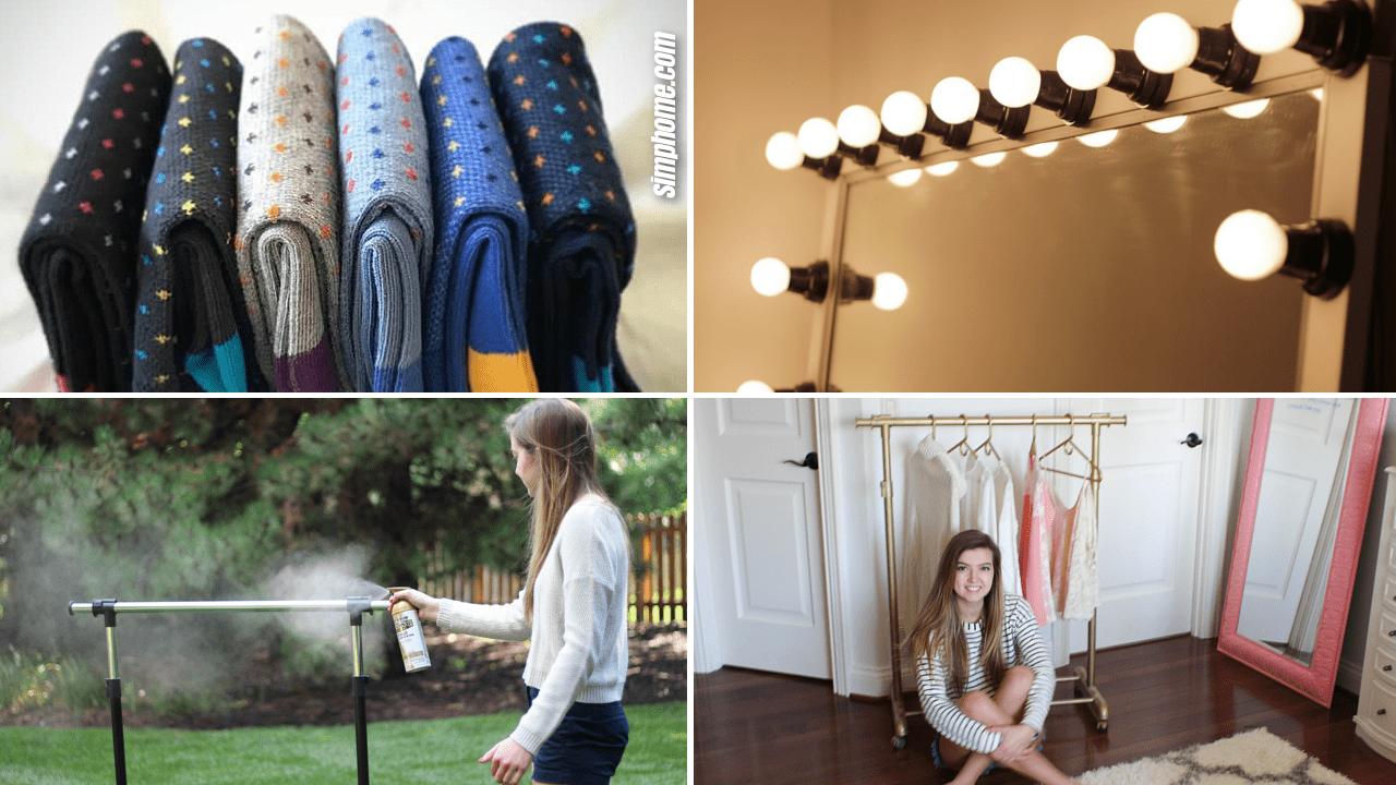 Simphome.com 10 DIY dressing room ideas Featured Image