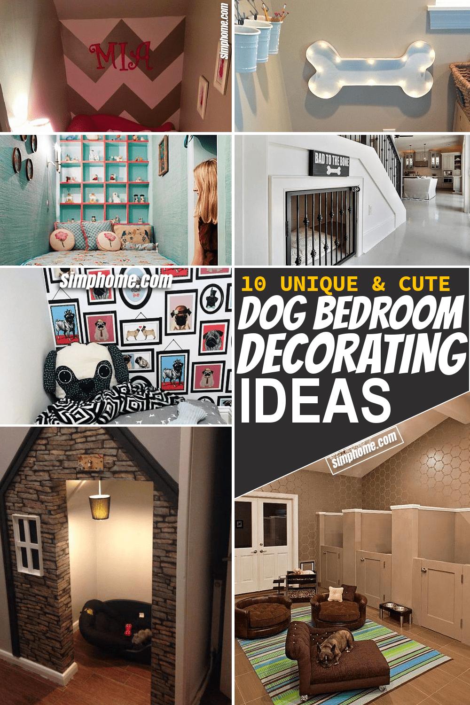 Simphome.com 10 Dog Bedroom Decor Ideas Featured Pinterest Image
