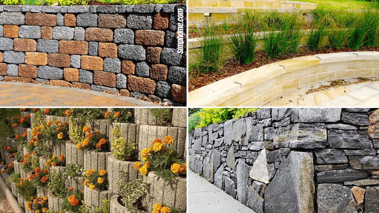 8 Garden Block Wall Ideas - Simphome