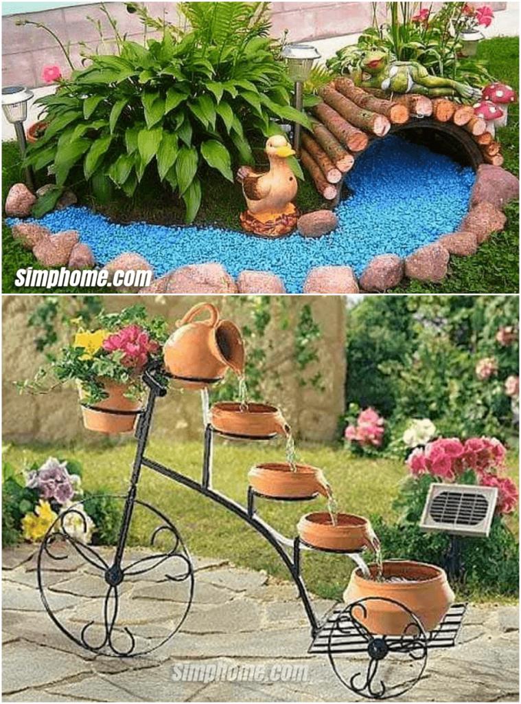 Simphome.com 2 creative ideas for garden decoration and design 2020 amazing