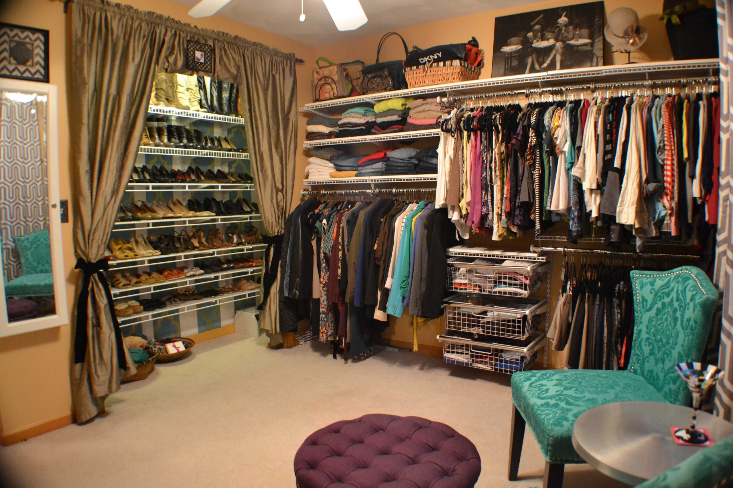 Simphome.com turning a small bedroom into walk in closet ideas clothes shoes room pertaining to turning a bedroom into a closet ideas