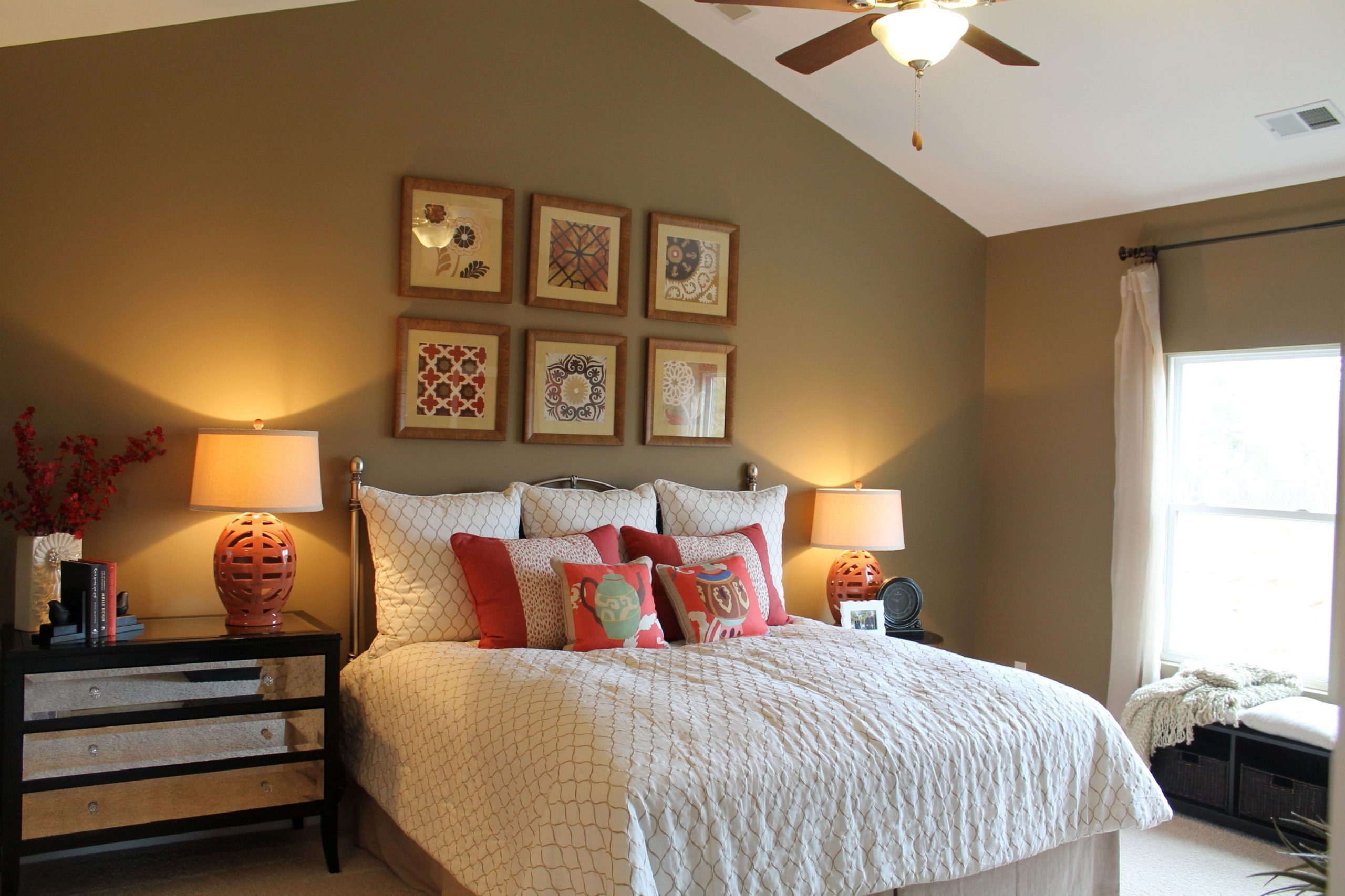 Simphome.com vaulted ceiling bedroom paint ideas cottage bedroom bedroom topic 10 slanted ceiling bedroom ideas
