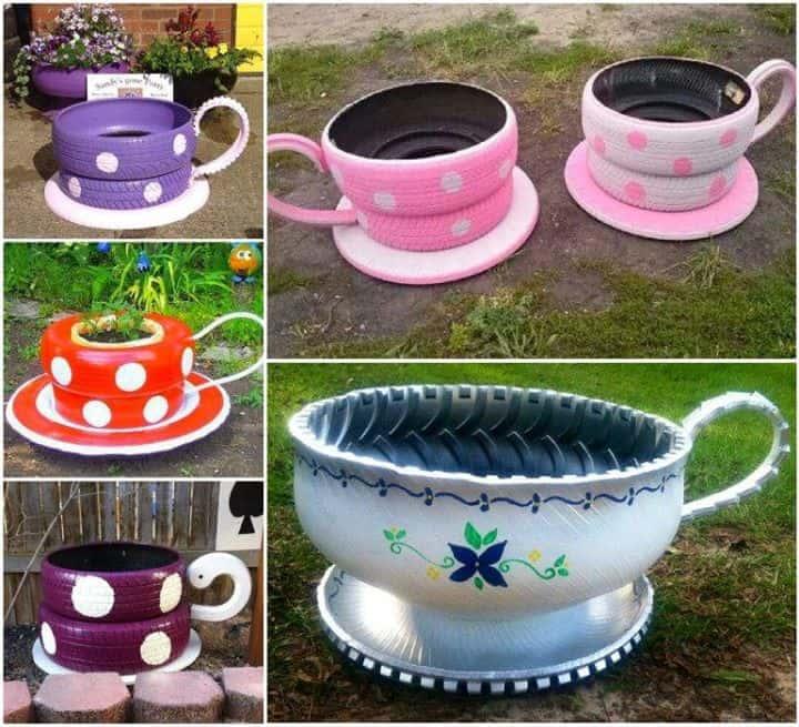 1.Simphome.com Colorful Tea Party