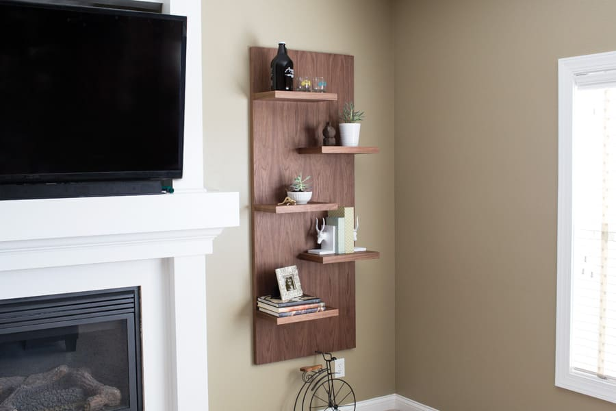 4.Simphome.com Simple Display Shelves