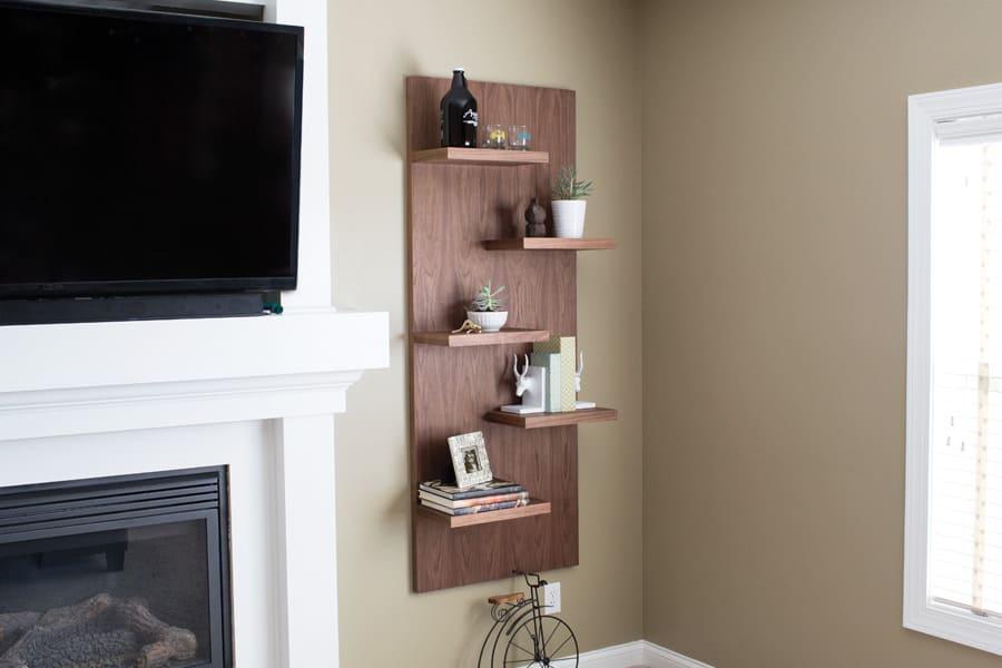 4.Simphome.com Simple Display Shelves